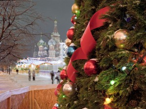 Ёлка в Москве